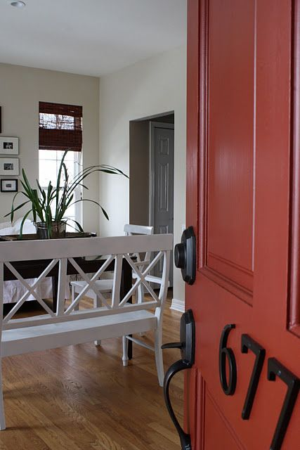 Sherwin William Rustic Red Is A Great Possibility To Use For Painted Headboards In The Twin Guest Room