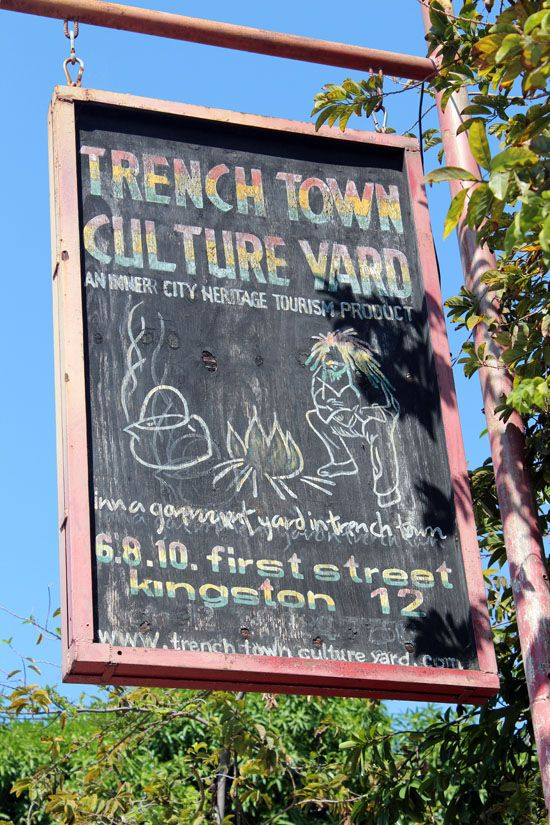 Trench Town Culture Yard Kingston Jamaica