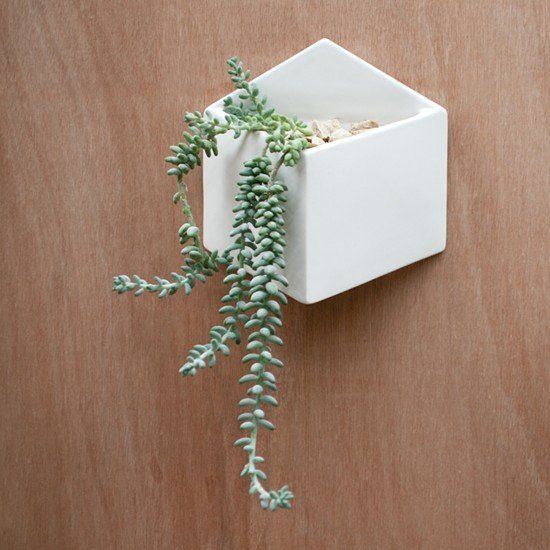 Pocket Wall Planter | White | Collected By LeeAnn Yare