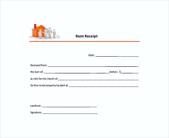 Annual Rent Receipt Templates  Rent Invoice Template  Knowing