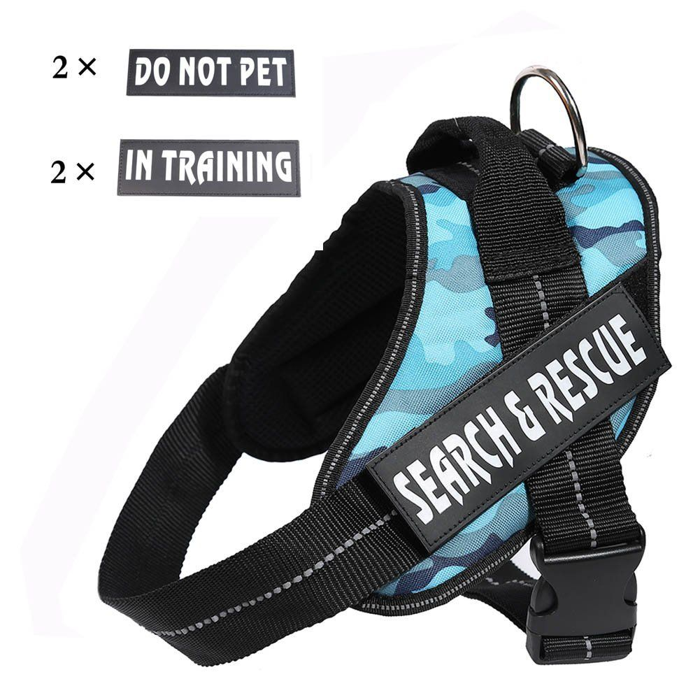 Darkyazi Service Dog Vest Harness,Premium Reflective Dog