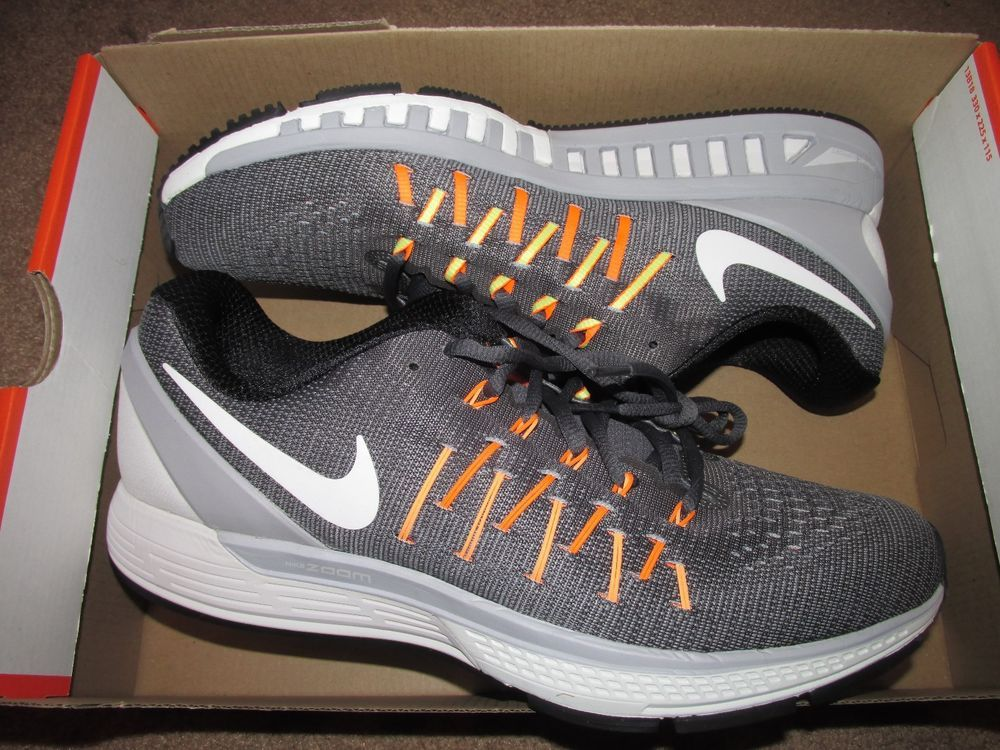Nike Air Zoom Odyssey 2 Mens Running Shoes 10 Dark Grey Peach Cream 844545  002 #