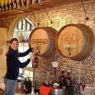 Wine Barrel Carvings In Hospitality Wine Decor