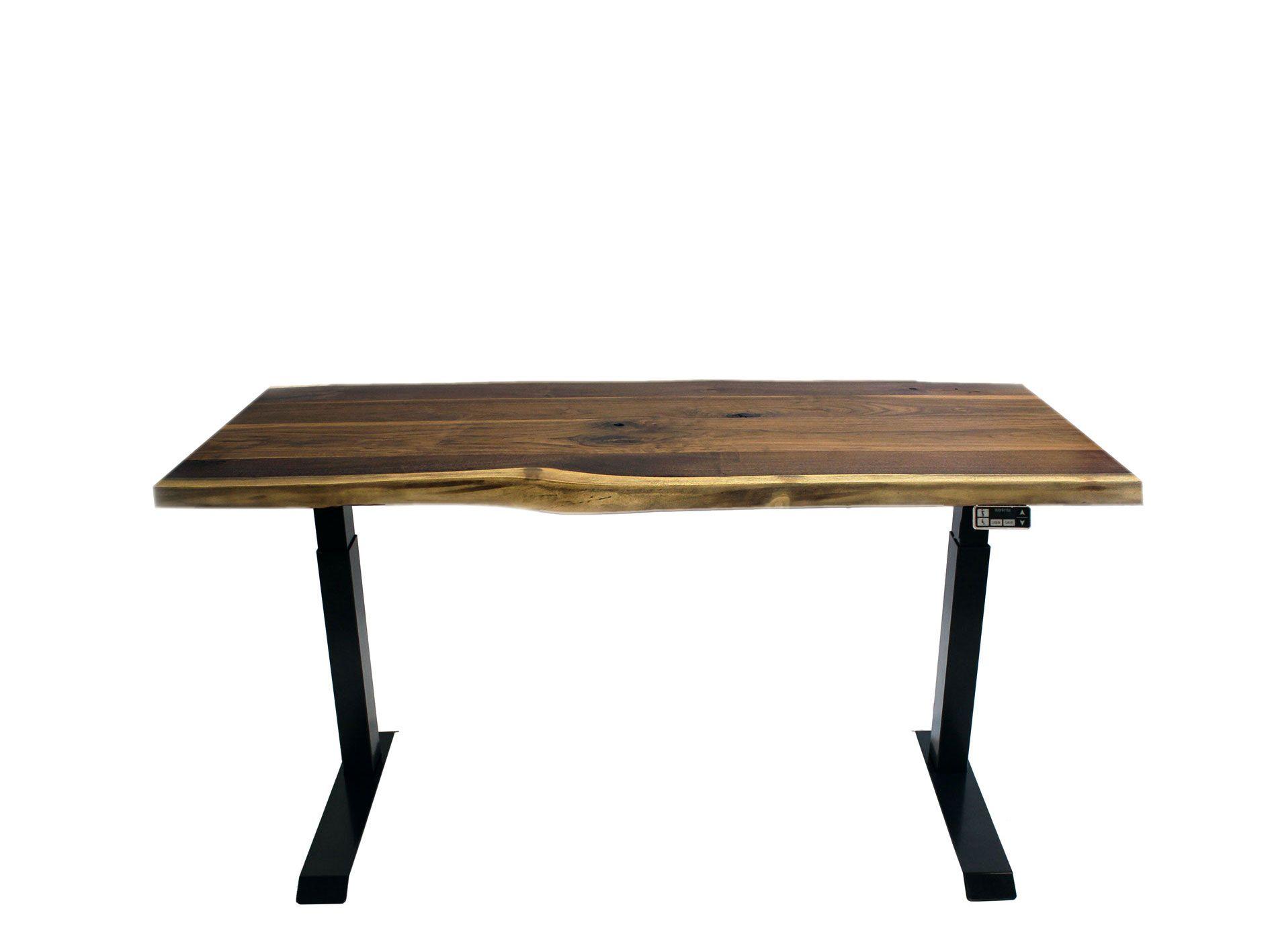 Zen Solid Rubberwood Sit Stand Desk Sit Stand Desk Electric Sit Stand Desk Adjustable Height Desk