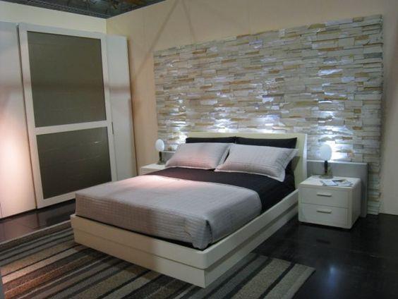 idee pietre camera da letto 2 | Idee per la casa | Pinterest