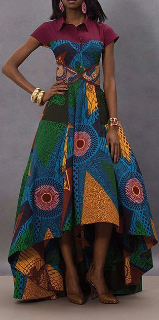 Best Kitenge Designs to Add to your Wardrobe - The Fashion Parlour #kitengedesigns