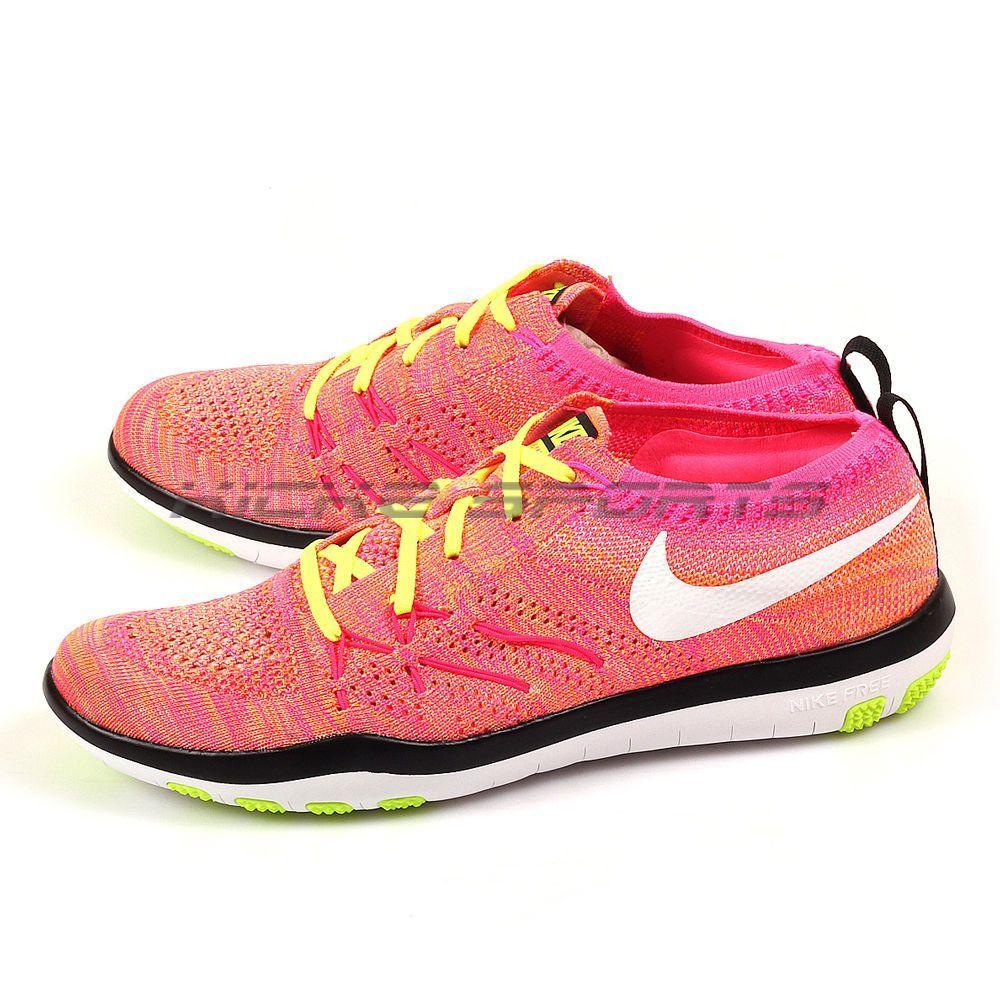 07f7f89635246 Nike Wmns Free Tr Focus Fk Oc Multi-Color Flyknit Training Shoes 2016 843987 -999