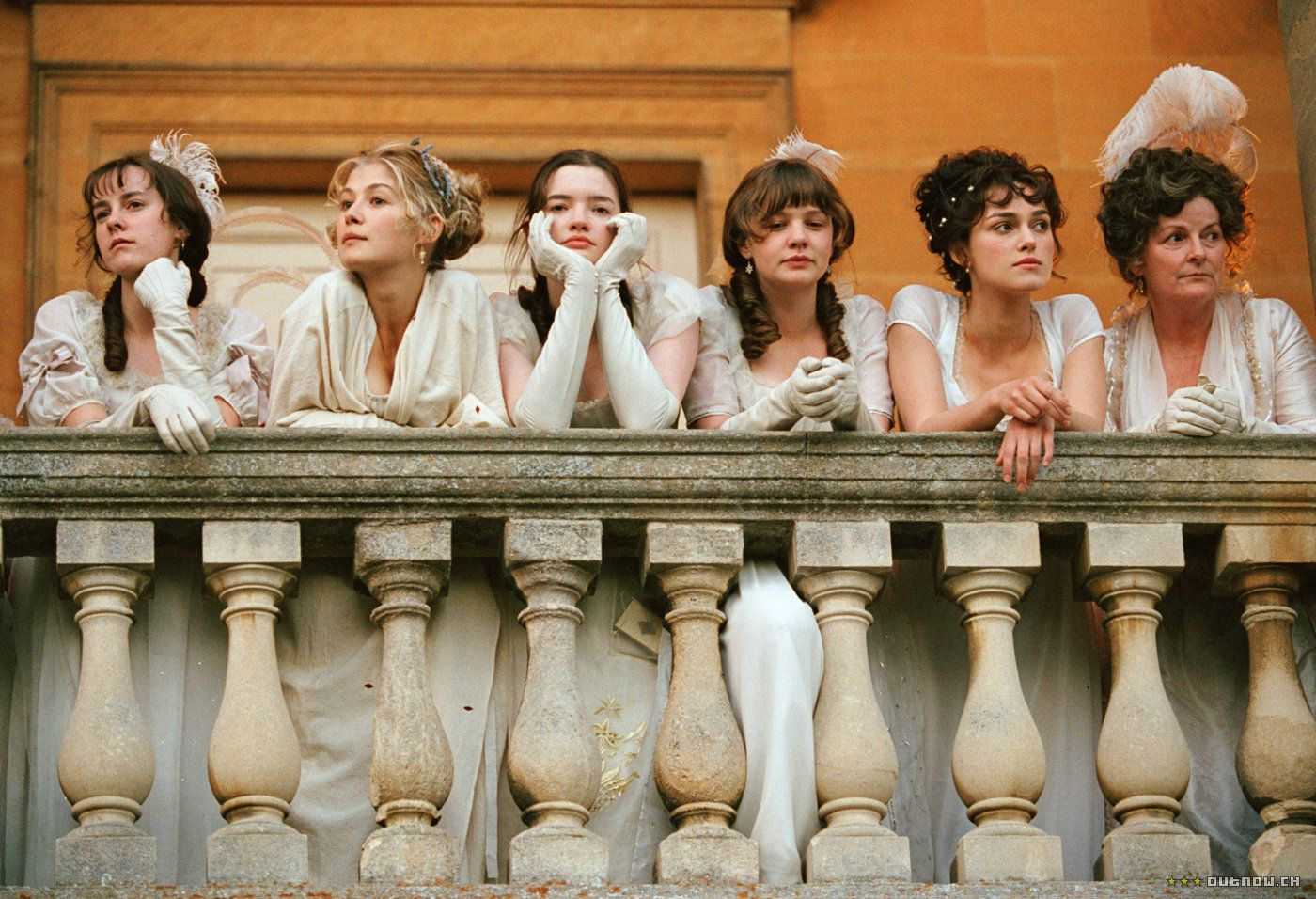 Pride & Prejudice (2005) The Bennet ladies #prideandprejudice