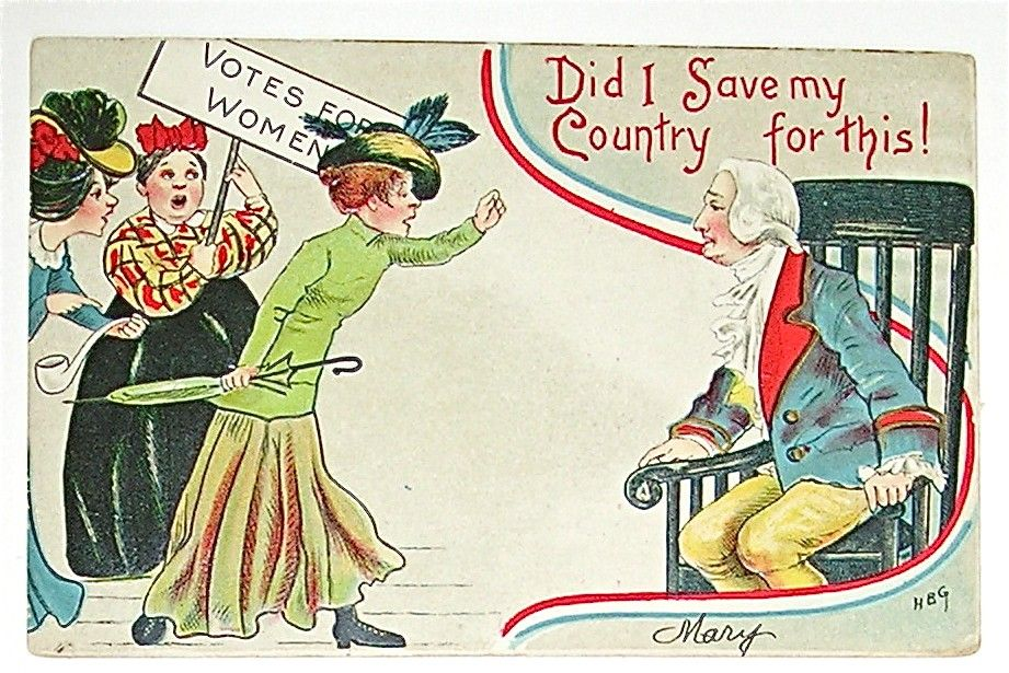 Similarities Between Anti Suffragette Posters And Anti Feminist Memes Suffragette Political Cartoons Anti Suffrage
