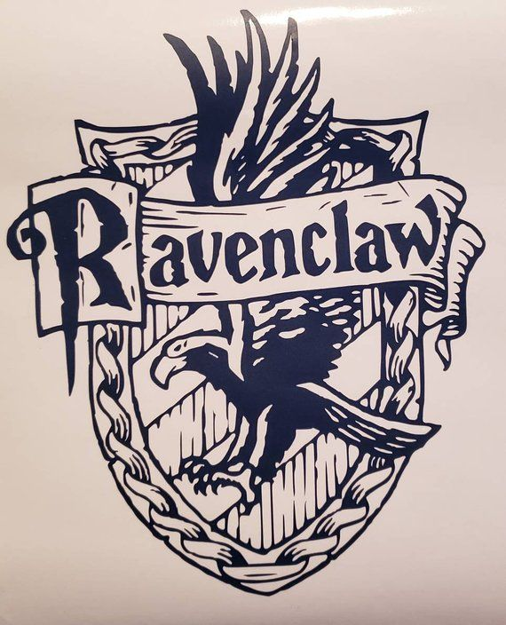 Check Out This Item In My Etsy Shop Https Www Etsy Com Listing 630672357 Ravenclaw Cr Harry Potter Colors Harry Potter Coloring Pages Harry Potter Printables