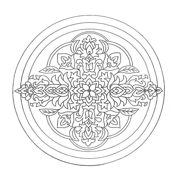 Coloriage Mandala Coloriage Mandala Cm2 Coloriage Mandala