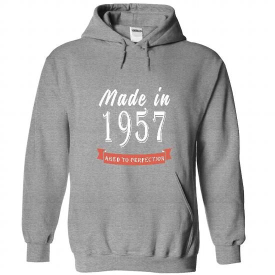 1957 AGED - AGED To Perfection! - #clothes #mens sweatshirts. WANT => https://www.sunfrog.com/Names/1957-AGED--AGED-To-Perfection-3833-SportsGrey-45821171-Hoodie.html?id=60505