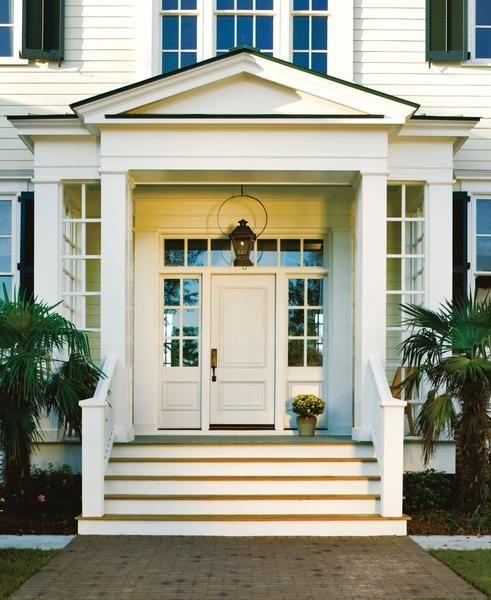 Best Exterior Doors For Home: Jeld Wen Custom Wood All Panel Wood Entry Door Transom