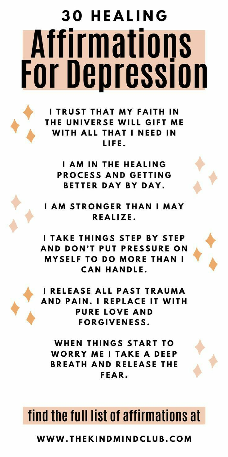 More anxiety healing affirmations video