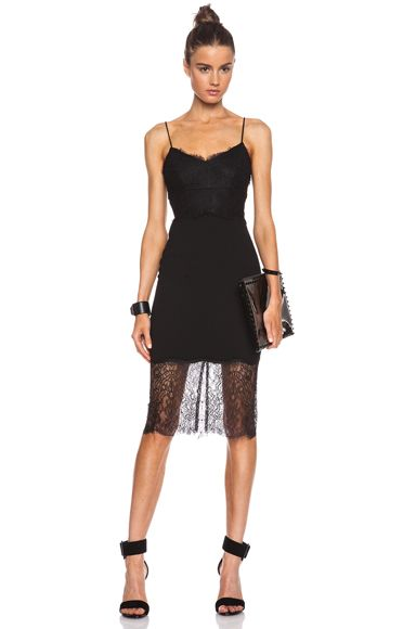 Nicholaslace Silk Cami Dress In Black 1 I Would Like This