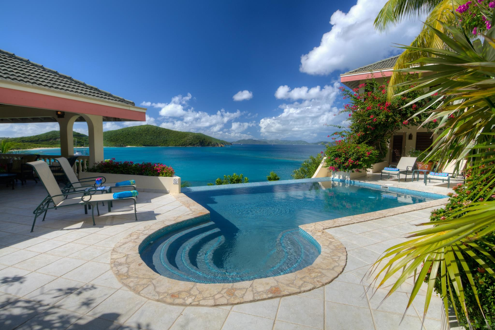 Luxury Villa, With Breathtaking Views Of The Caribbean, Is Truly