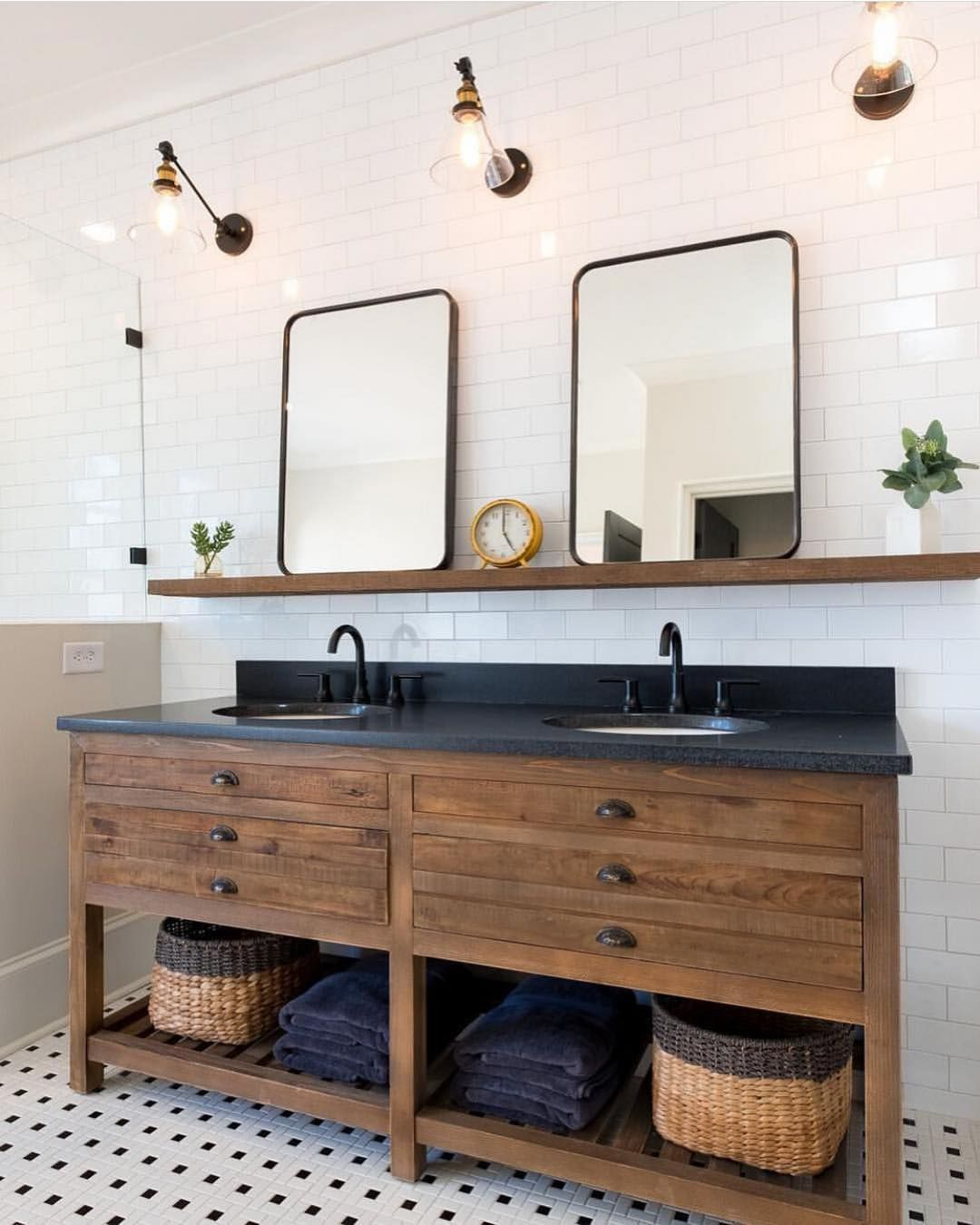"Bathrooms of Instagram on Instagram ""Stunning Modern"
