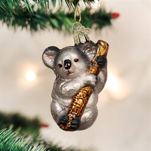Koala Bear Ornament Old world christmas, Christmas tree