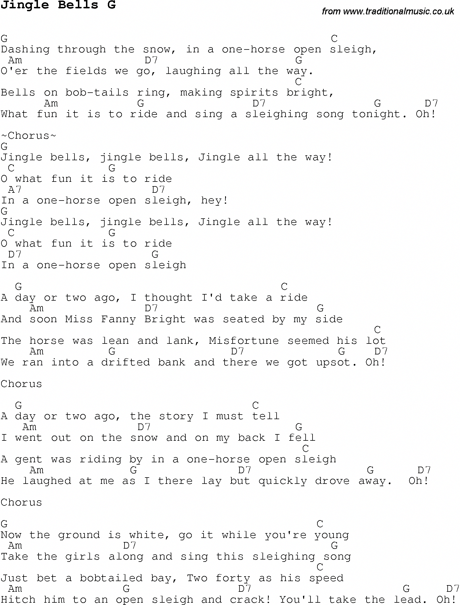 Christmas Songs And Carols Lyrics With Chords For Guitar Banjo For Jingle Bells G Ukuleleforbeginners Ukelele Songs Christmas Ukulele Ukulele Music