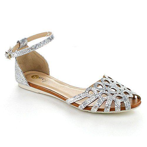 97c73015337bd I Miller Rhoda Slip On Shoes. I. Miller Rhoda Glitter Open-Toe Demi-Wedge  Pumps