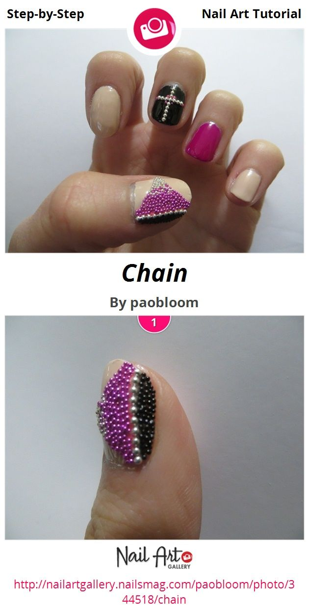 Chain by paobloom - Nail Art Gallery Step-by-Step Tutorials ...