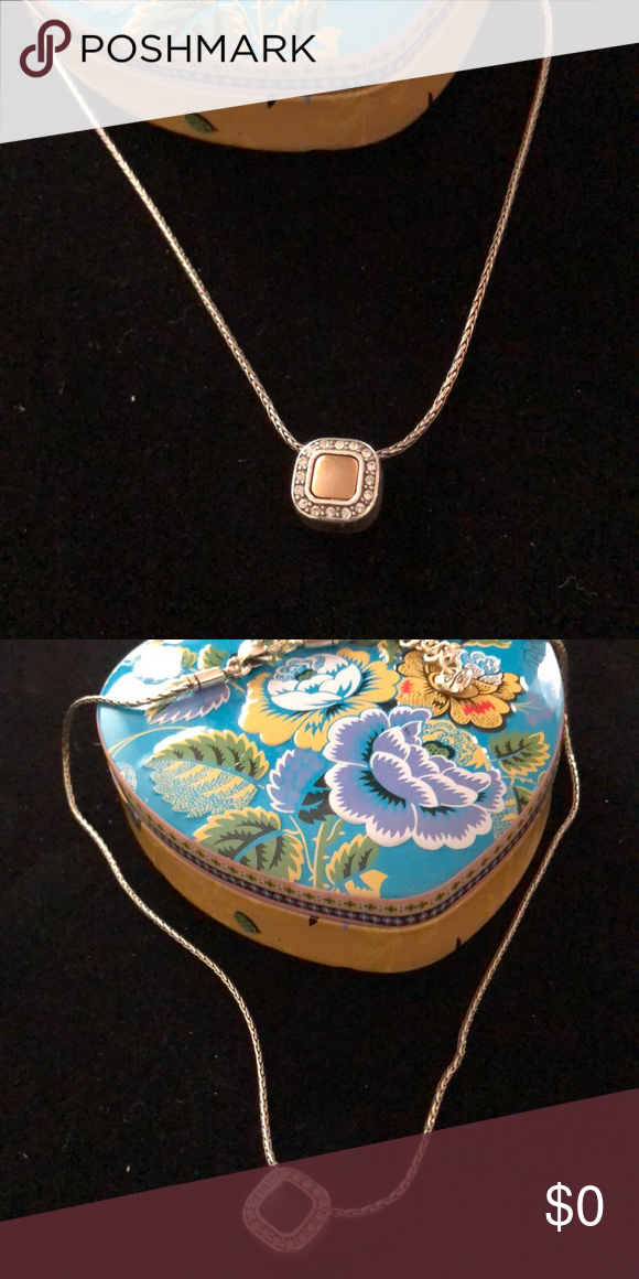 💗Brighton Shadow Play Mini Necklace Brighton Reversible