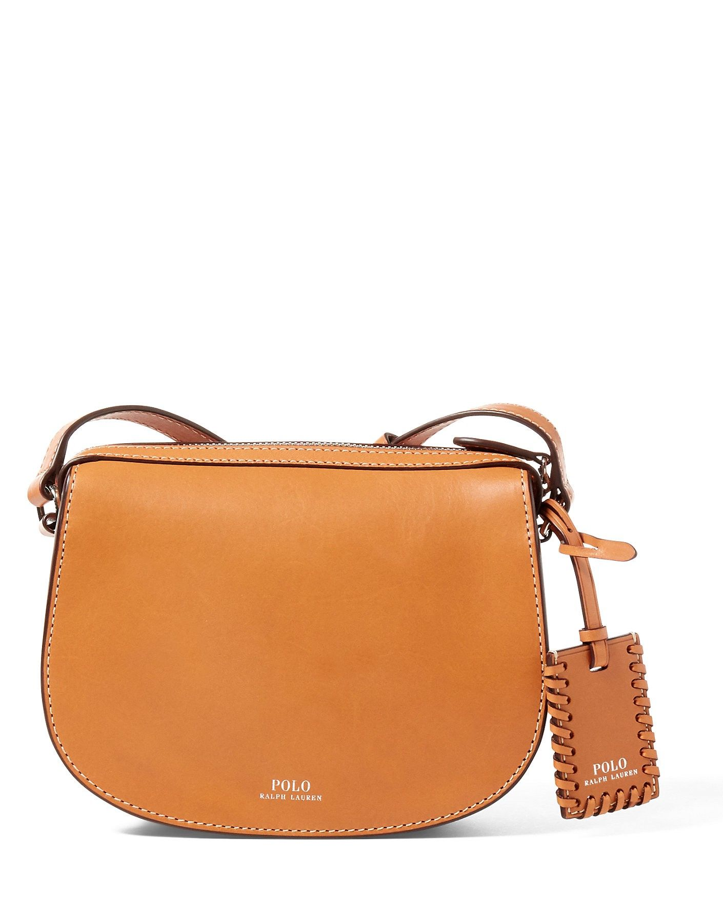 f711ddd368ea RALPH LAUREN Leather Mini Crossbody Bag.  ralphlauren  bags  shoulder bags   leather  crossbody  cotton