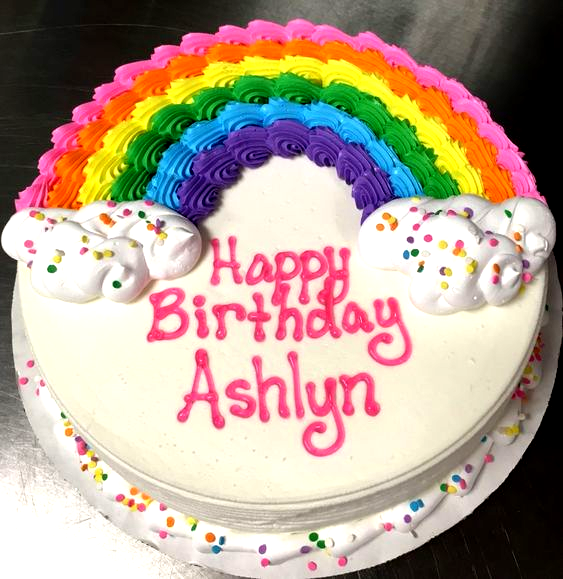 Magnificent Round Birthday Cakes Rainbow Dq Ice Cream Cake Cake Ideas Ca In Funny Birthday Cards Online Elaedamsfinfo