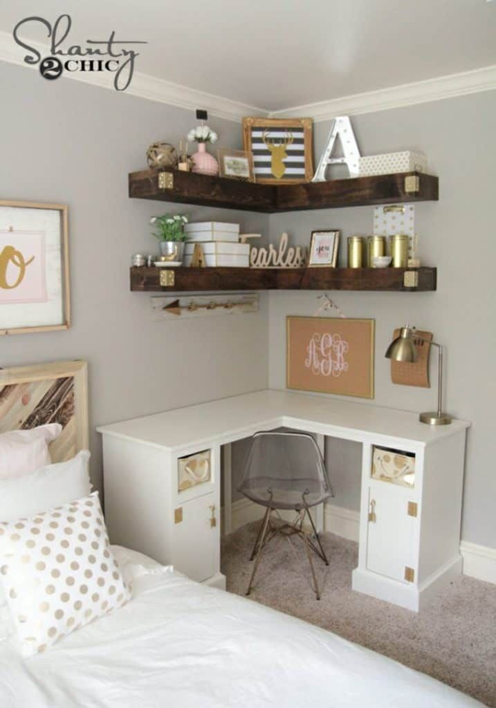 29 Stylish Ideas for a Teenage Girl's Dream Bedroo
