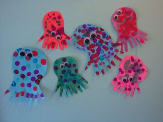 Maros KindergartenSummer Ocean Crafts With Different Textures Part 1 U