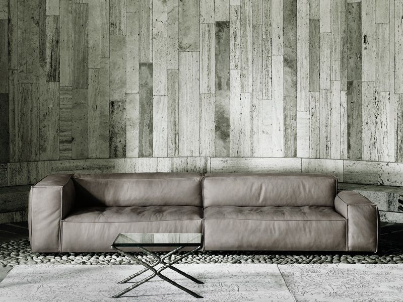 Sectional Sofa With Removable Cover Neowall  Living Divani  Sofas