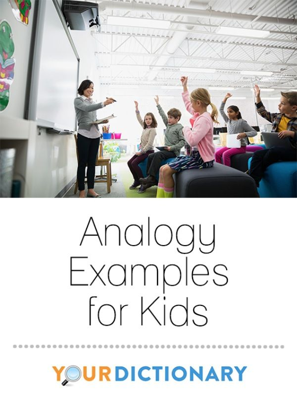 Analogy Examples For Kids Teacher Lesson Plans Grammar