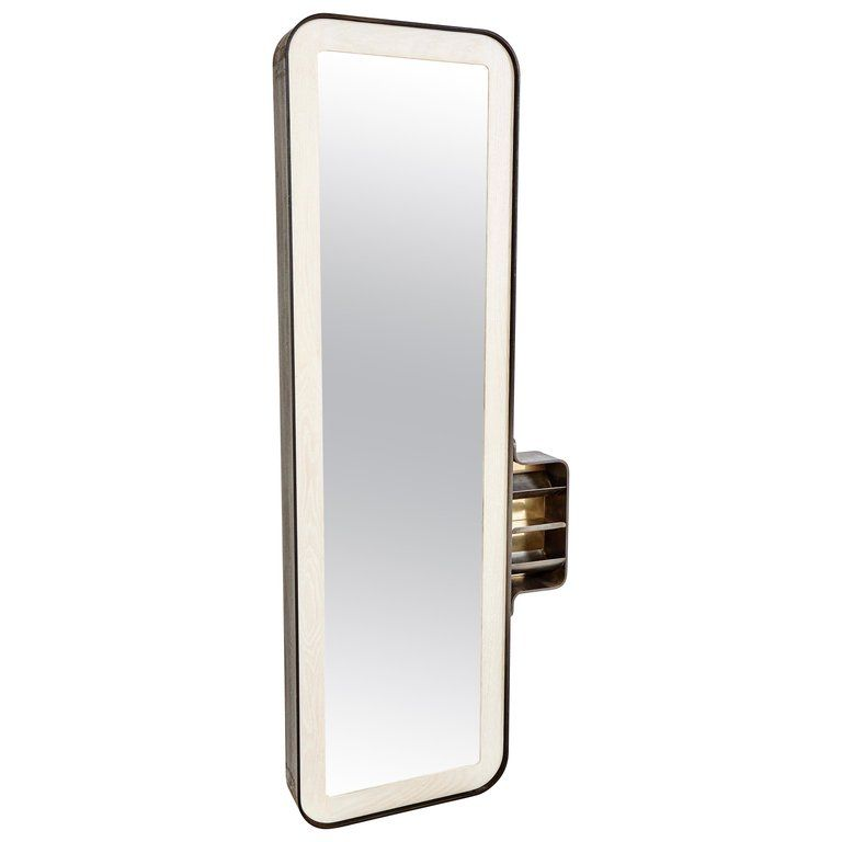 Time Capsule Mirror Blackened Steel Bleached Oak Polished Bronze Wall Mi Mirror Mirrors For Sale Contemporary Wall Mirrors