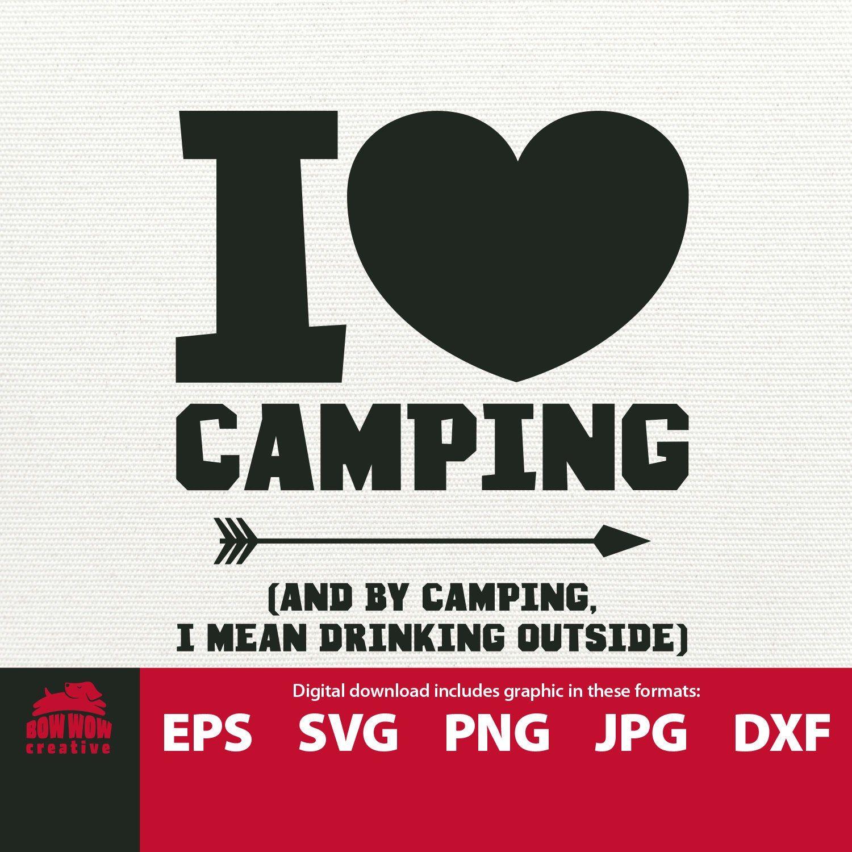 Download I Love Camping svg camping svg camp svg funny camping ...