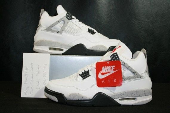 Air Jordan Ciment 4 Ebay