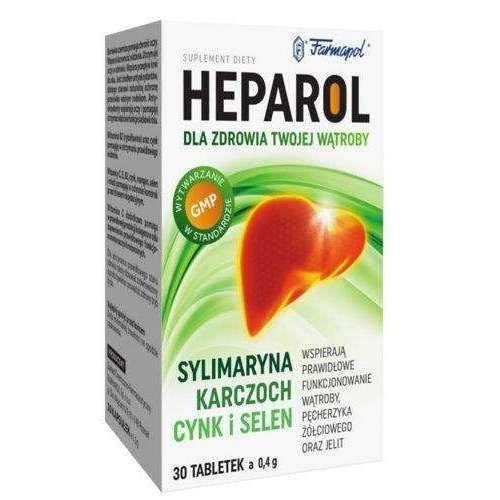 Heparol X 30 Tablets Liver Health 3d Medicine Packaging Liver