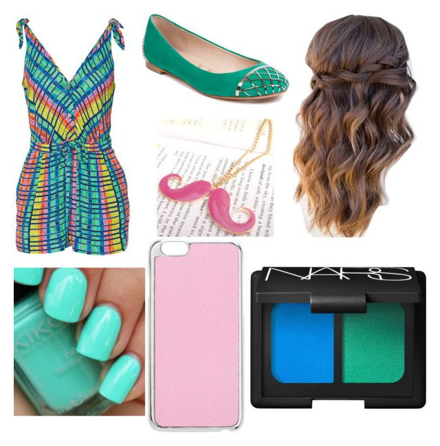 """""""Bold, Bright Summer Outfits"""" by taoptimist on Polyvore featuring Mara Hoffman, Lucy Choi London, Miss Selfridge, NARS Cosmetics and summerbrights"""