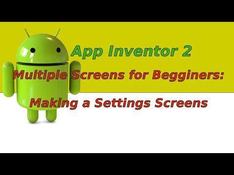 (133) MIT App Inventor 2 Basic Tutorial 02 Multiple