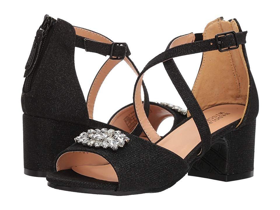 c52d97cf0ef7 Badgley Mischka Kids Pernia Gems (Little Kid Big Kid) (Black) High Heels.  She ll be a queen one day but for now she s your little princess.