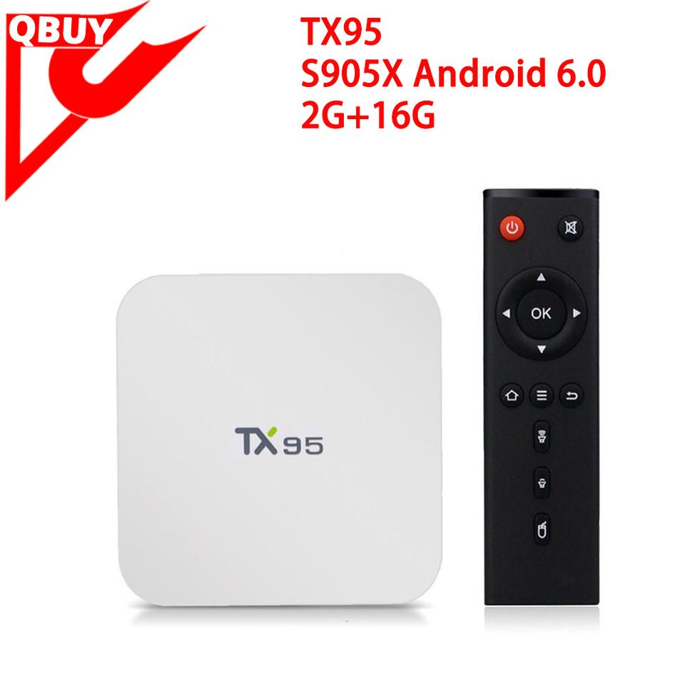 Latest model tv box tx95 2GB/16GB Linux firmware update smart