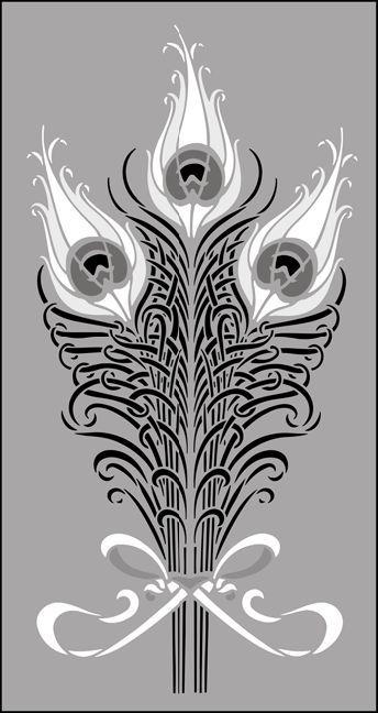 Art Nouveau Design Motifs | ... Art Nouveau stencils online. Page 4 ...