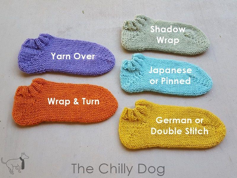 5 Knit Short Row Sock Heels Knit Eresting Pinterest Knitting