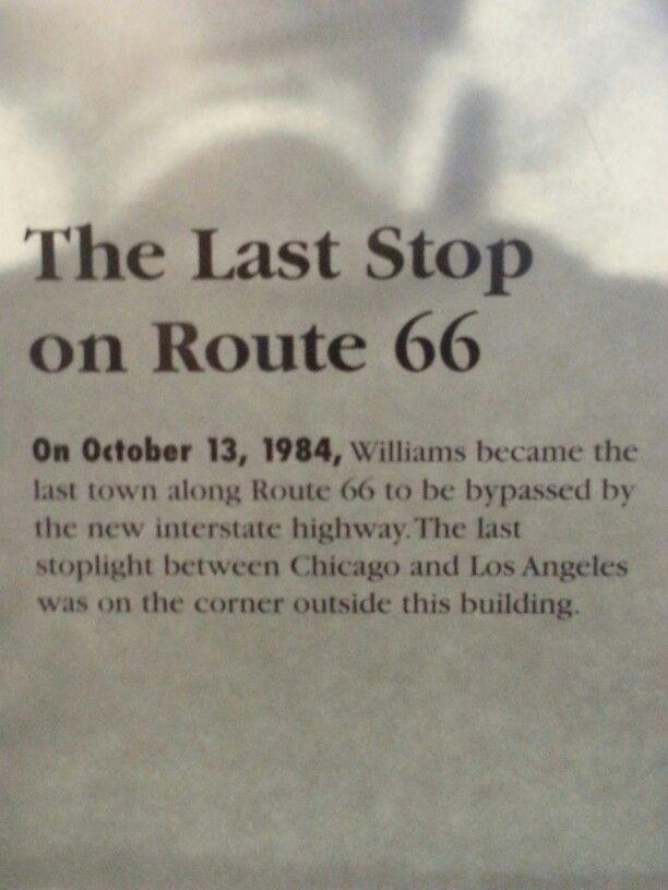 Route 66 Williams AZ