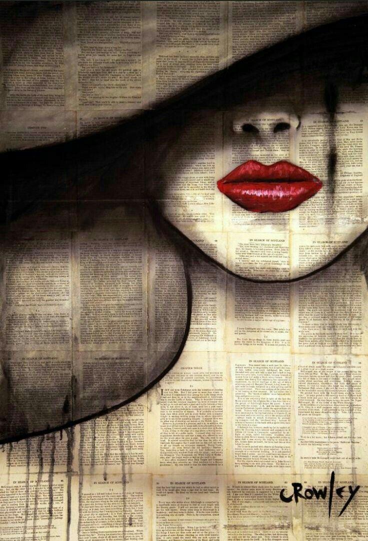 Shady lady. Red lips. - #Lady #lips #Red #Shady