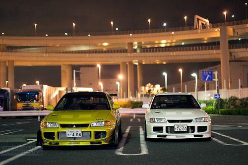 Evo Mitsubishi Daikoku Futo An Awd