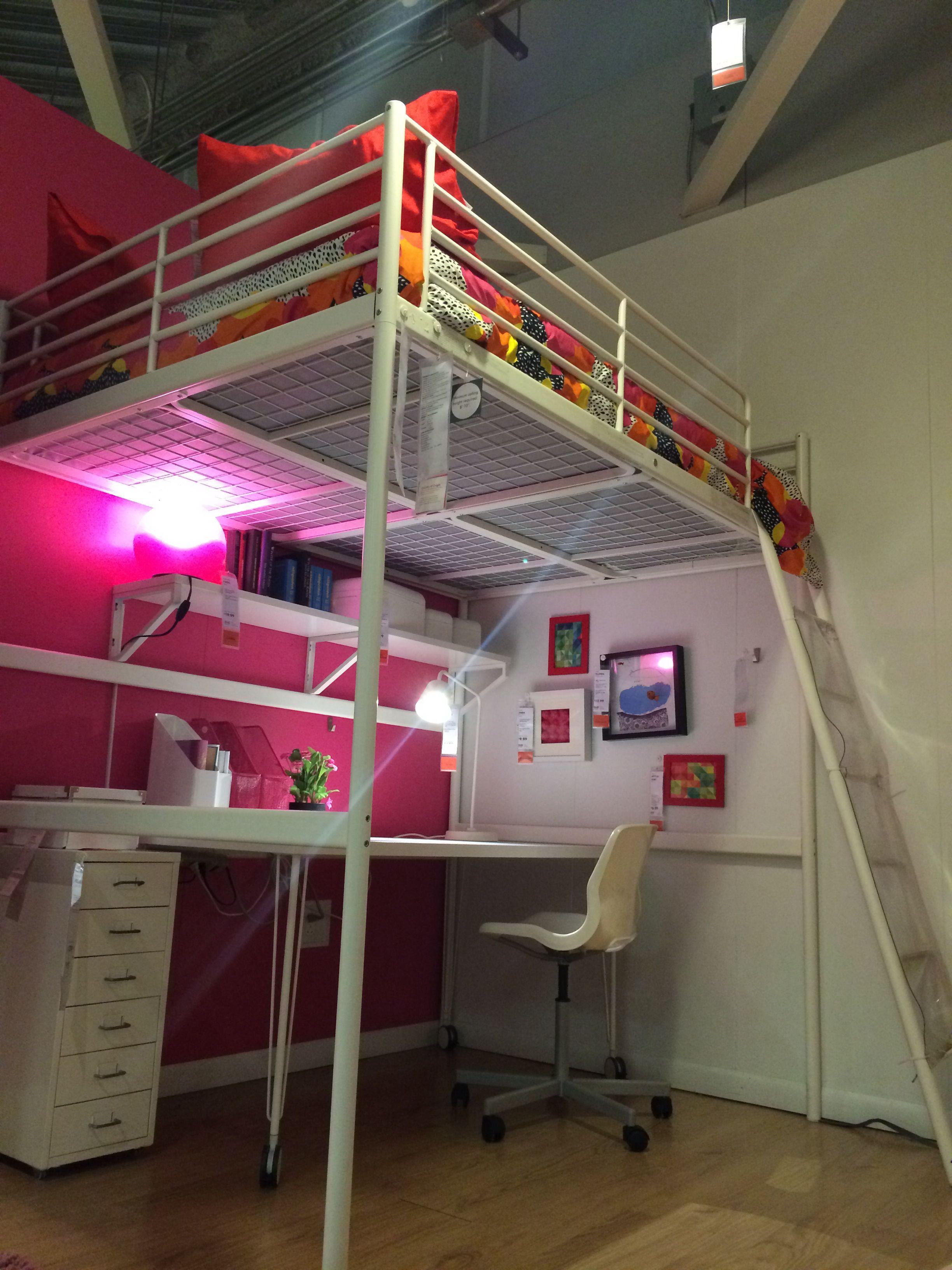 Letto A Castello Tromso Ikea.Tromso Bed At Ikea Big Girl Bedrooms Fancy Bedroom Girls Loft Bed