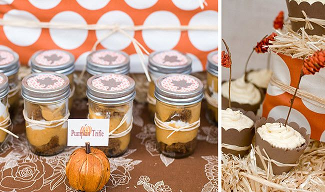 Fantado regular mouth clear mason jar 16oz 1 pint bridal showers reception and favors - Bridal shower theme ideas for fall ...