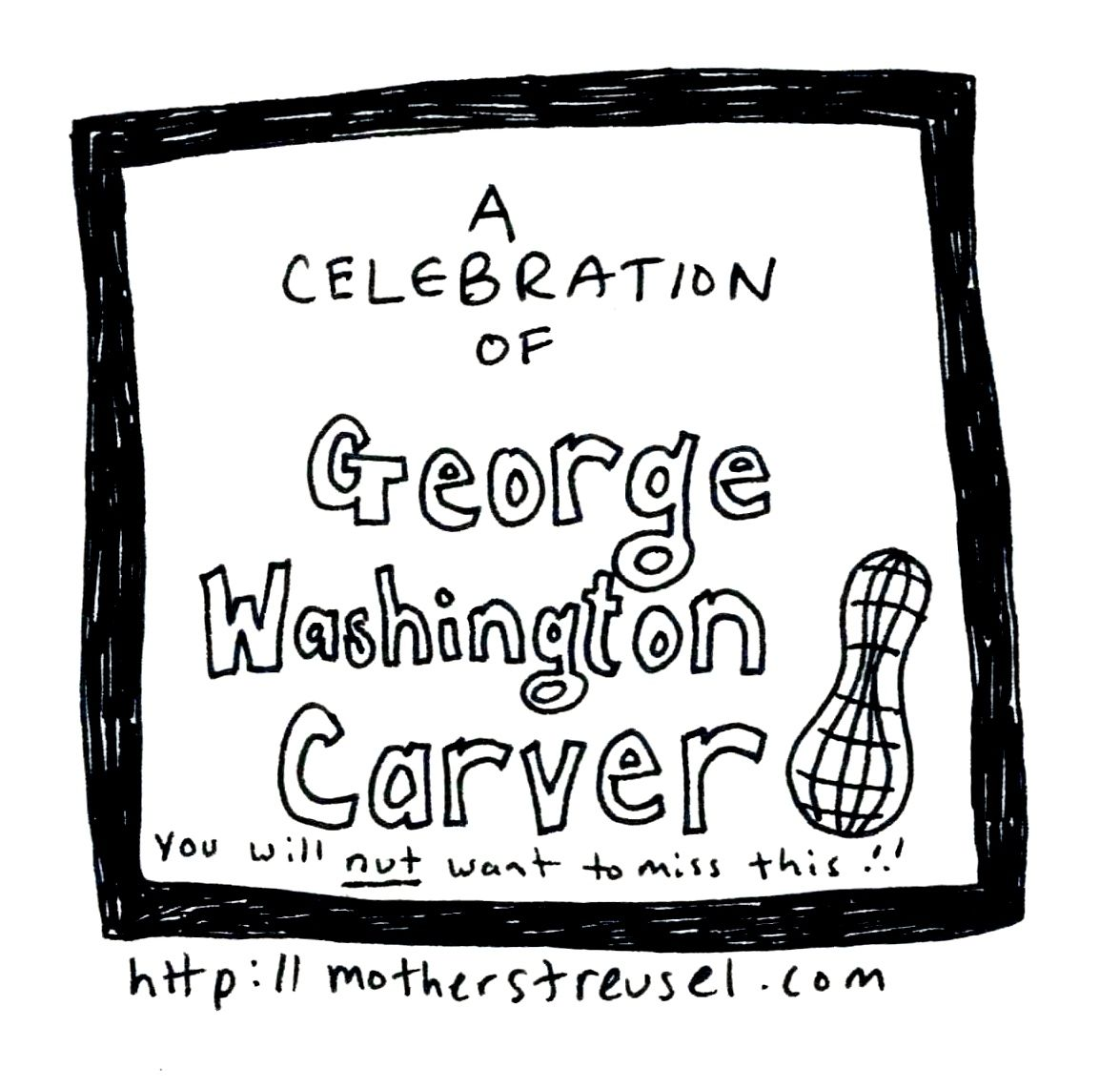 George Washington Carver Artistic Duet By Mother Streusel