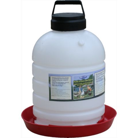 Farm Tuff Top Fill Poultry Waterer 5 Gal Chicken Waterer Chickens Backyard Poultry