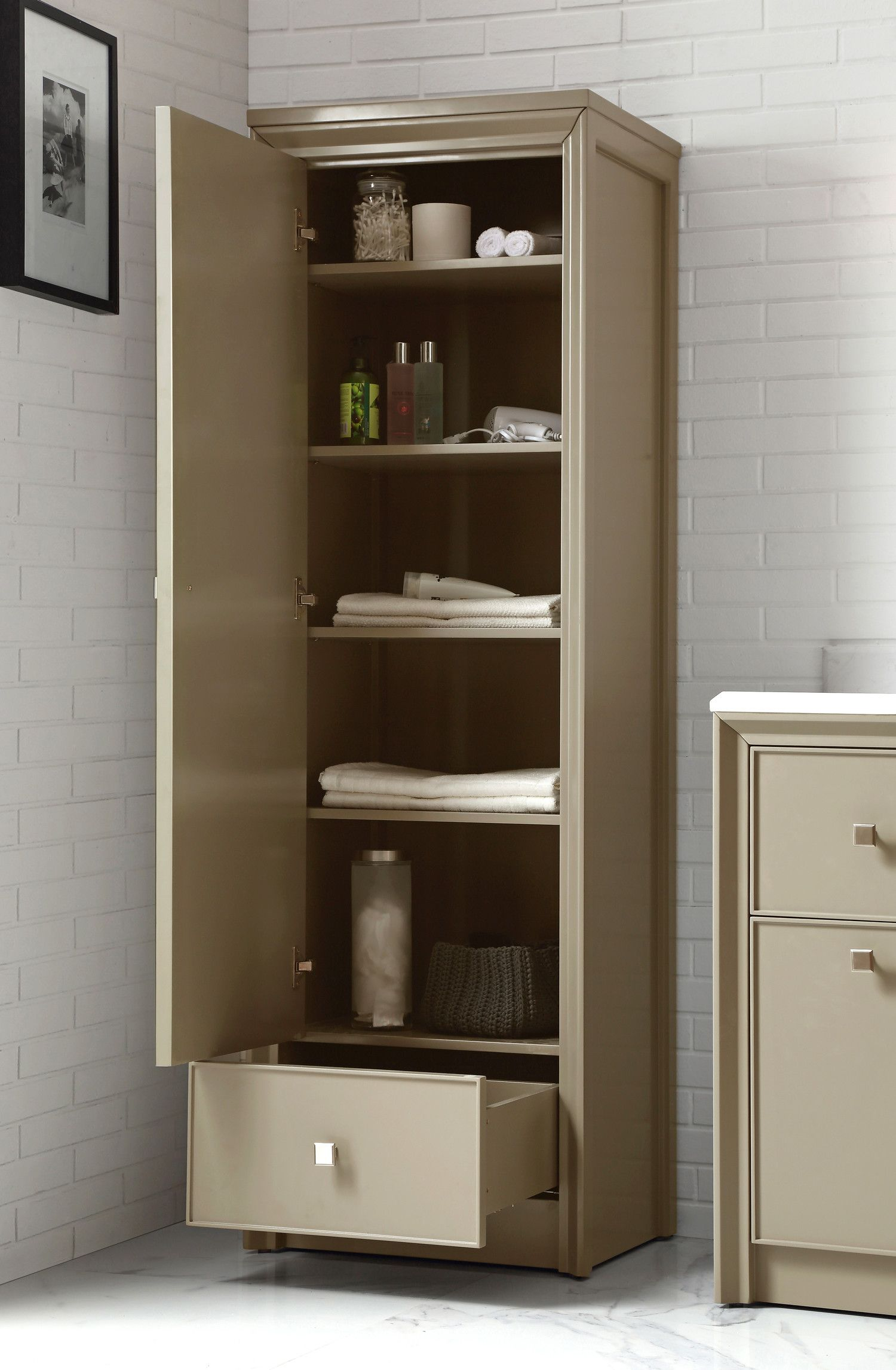Nine Ways To Organize Your Bathroom Counter Diy Bathroom Bathroom Storage Bathrooms Remodel [ jpg ]